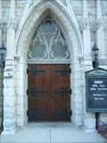Image for Trinity Cathedral Door - Omaha, Nebraska