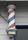 Image for The Barber Shop Barber Pole - Pacific Grove, CA