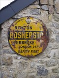 Image for Bosherston AA sign, Pembrokeshire