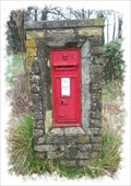 Image for Victorian Post Box - West Langdon, Kent