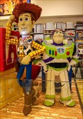 Image for Toy Story, Woody, Buzz - LEGO Store, Disney Village, Paris