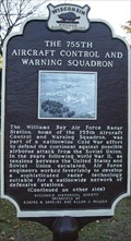 Image for The 755th Aircraft Control and Warning Squadron Historical Marker