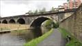 Image for Stone Railway Bridge 225F Over The Leeds Liverpool Canal - Leeds, UK