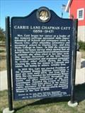 Image for Carrie Lane Chapman Catt