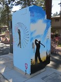 Image for Golfer Utility Box - South Lake Tahoe, CA