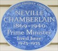 Image for Neville Chamberlain - Eaton Square, London, UK