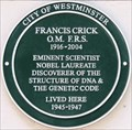 Image for Francis Crick - St George's Square, London, UK