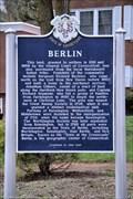 Image for Berlin Historical Marker