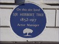 Image for Sir Herbert Tree - Sloane Street, London, UK