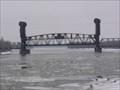 Image for Rail bridge at Beardstown Riverfront, Beardstown, Illinois.