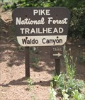 Image for Waldo Canyon Trailhead, outside Colorado Springs, CO