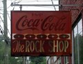 Image for The Rock Shop (sign) – Ball Ground, GA.