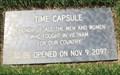 Image for Vietnam War Memorial Time Capsule - Oak Hill memorial Park - San Jose, CA