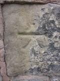 Image for Cut Mark, Private House, Chapel Street, Trevor, Denbighshire, Wales, UK