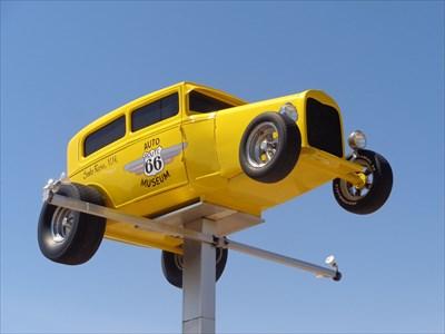 Custom Car - Route 66 - Santa Rosa
