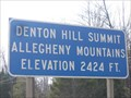 Image for Denton Hill Summit, Pennsylvania