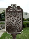 Image for Greenfield: The Last Town in Milwaukee County Historical Marker