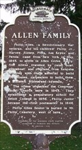 Image for Allen Family Historical Marker