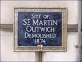 Image for Site of St Martin Outwich - Threadneedle Street, London, UK