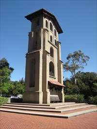 El Campanil from Back Left, Mills College, Oakland, CA