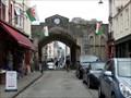 Image for Town Walls Caernarfon - Gwynedd, Wales, Great Britain.