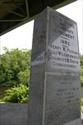 Image for NJ-NY Boundary Witness Monument - Port Jervis, NY