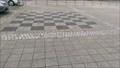 Image for Giant Chess Board (Schach): Marktplatz, Offenbach/Queich, Rheinland-Pfalz – Germany