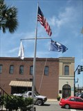Image for Old Horry County Courthouse Nautical Flagpole - Conway, SC