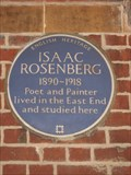 Image for Issac Rosenberg - Cable Street - East London