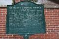 Image for St. Mary's Catholic Church -- Memphis TN