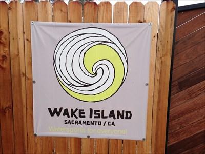 Wake Island Sign at Entrance, Pleasant Grove, CA