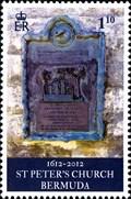 Image for St. Peter's Graveyard African Diaspora Trail Plaque - St. George, Bermuda