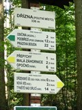 Image for Elevation Sign - Drizna, Czech Republic. 336 m