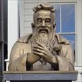 Image for Bust of Confucius - Locke, California