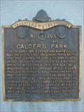 Image for Calder's Park