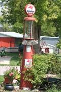 Image for Mobil Gas pump - Blanchard OK