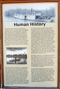 Image for Osprey Landing Human History Marker - Libby, MT