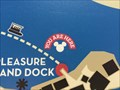 Image for Downtown Disney Map (Red Boat Dock WEST) - Lake Buena Vista, FL