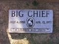 Image for Big Chief Memorial~ Elizabethton, Tennessee