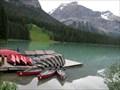 Image for Emerald Lake Canoeing, Yoho National Park, BC, Canada