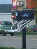 Image for Ford Mailbox with Headers - Holly, MI