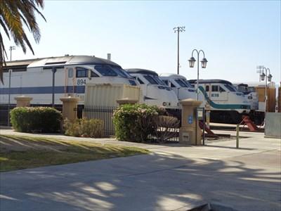 Santa Fe Depot - Railroad Museum - San Bernardino