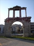 Image for Hadrian's Arch by Themistocles von Eckenbrecher - Athens, Greece