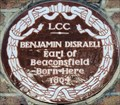 Image for Benjamin Disraeli - Theobald's Road, London, UK