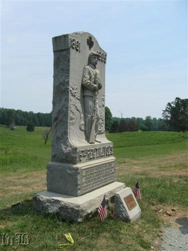 One of the monuments at the Bloody Angle -- 15th NJ Volunteers