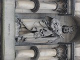 Image for Monarchs – King Henry IV of England on side of city hall - Bradford, UK
