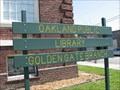 Image for Golden Gate Branch - Oakland Public Library - Oakland, CA