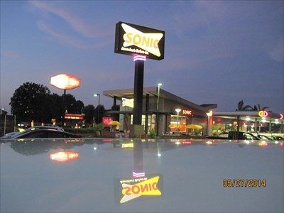 My evening visit to Sonic.