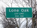 Image for Lone Oak, TX - Population 598