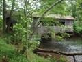 Image for Quinebaug Covered Bridge - Old Sturbridge Village, Massachusetts